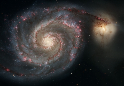 Whirlpool Galaxy - Image Courtesy of ESA/Hubble