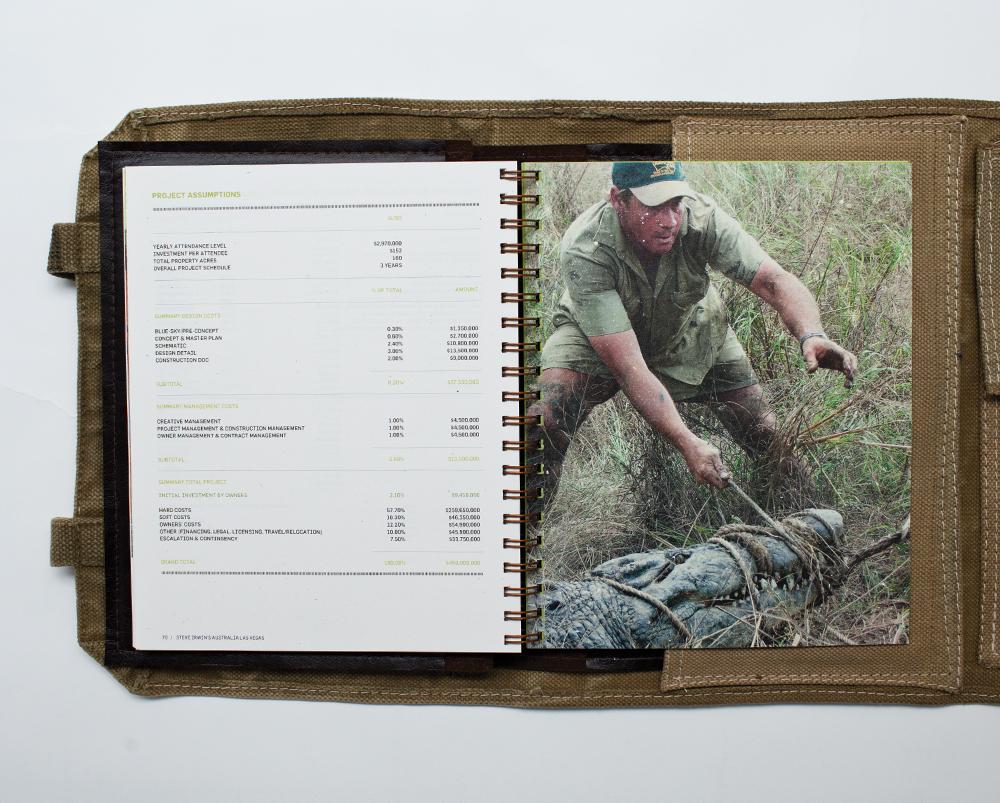 Steve Irwin Australia Zoo Roll book 2