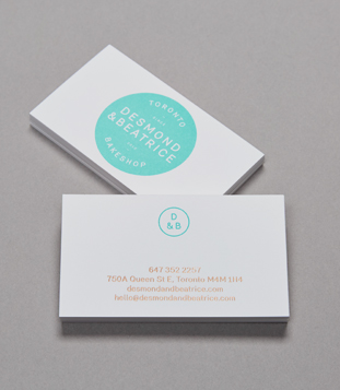 Desmond & Beatrice business cards 1
