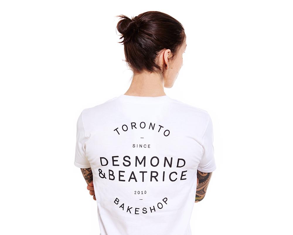 Desmond & Beatrice logo shirt