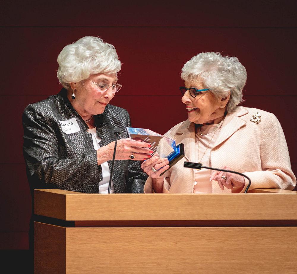 The 2017 Manny & Roz Rosenthal Spirit of Federation Award Winner.