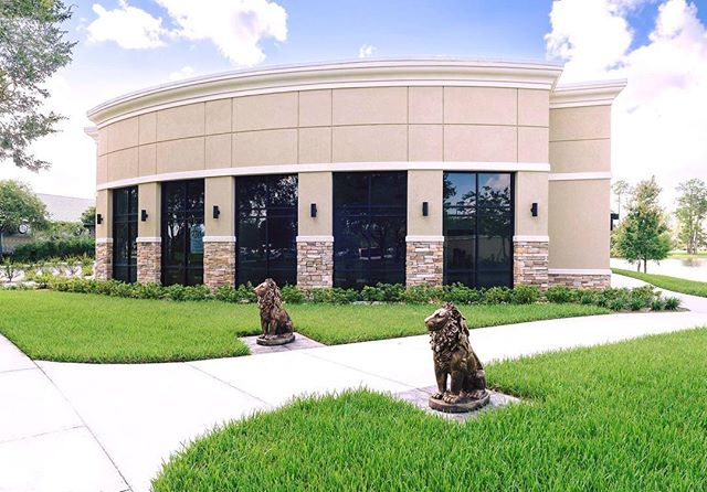 Feature Friday: Lion Gate One!  Located in World Golf Village, the retail center is over 10,000 sq.ft. with 6 units ranging from 1,500 to 2,150 sq.ft.