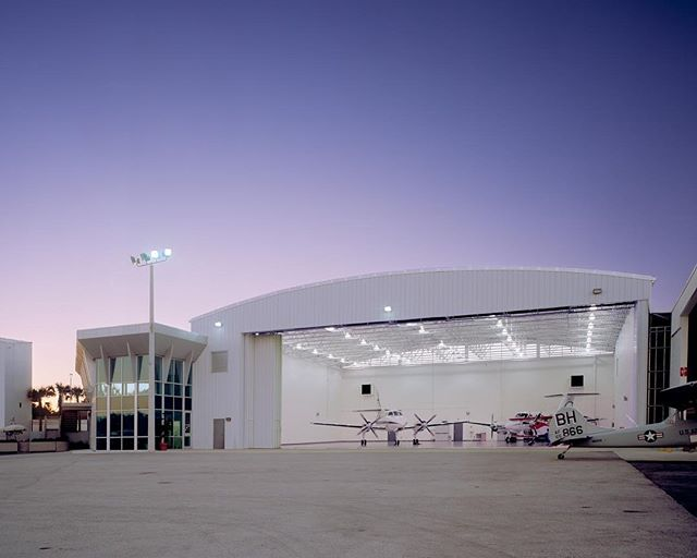 We can't believe the first week of 2018 has already flown by! |St.Augustine Terminal Hangar|  #ENBarch #architecture #architecturephotography