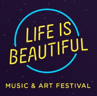 Life Is Beautiful Logo Black