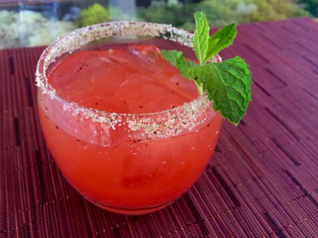 Peña Berry Margarita Photo By: Andrea Harward