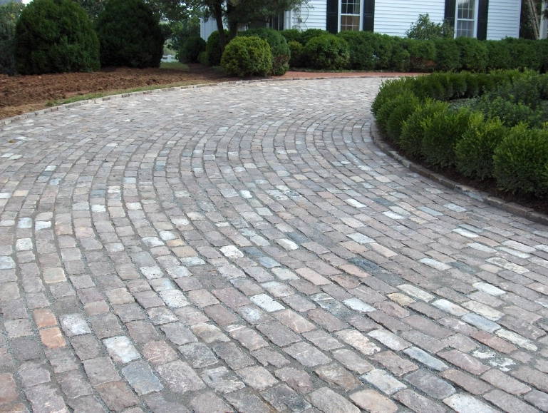Were used to paver the driveway of this beautiful estate in Charlottesville, VA.