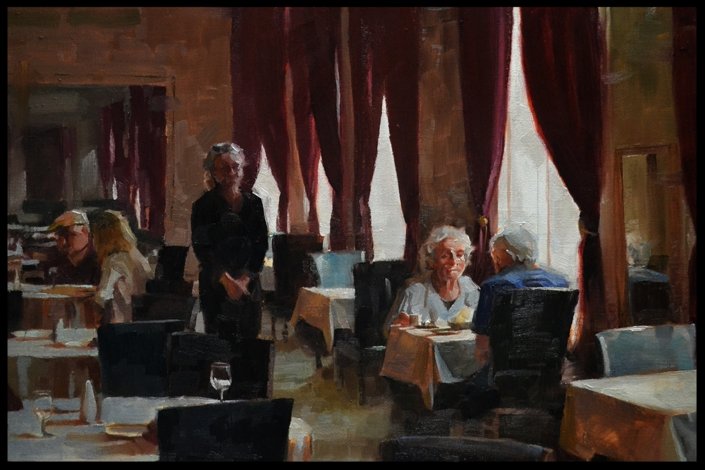 Marc Anderson - Booth 34 Marc Anderson is a contemporary, representational painter whose work features still life, figures, and landscapes.