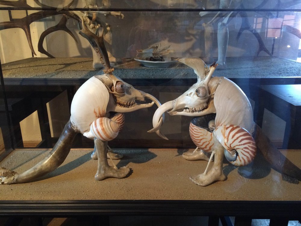 A Surrealist sculpture by Jan Svankmajer.