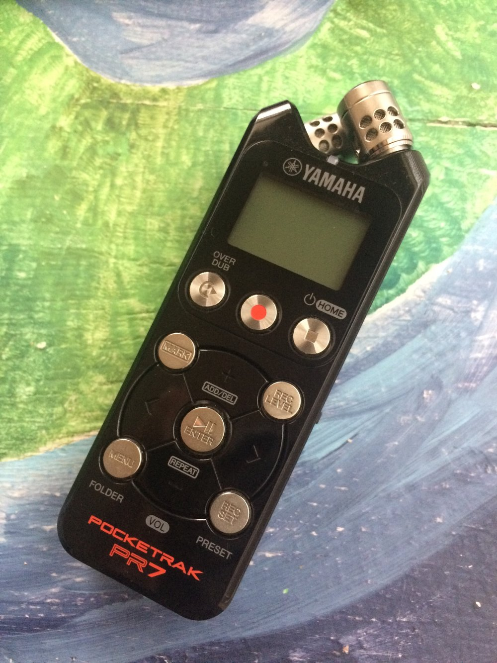 The Yamaha Pocketrak 7: the only tool you need for crystal clear audio.