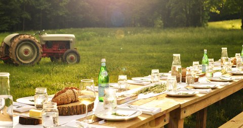 "We can't wait to break bread with you at our next Farm to Table dinner in March!  We will be partnering with Roots (famous for their amazing farm fresh food truck). So, bring a friend (or two) and enjoy an amazing farm meal, featuring our fresh pasture raised chicken, while sipping on local beers and wines and listening to delightful music.  Several of our local providers will be on hand to talk with you and answer your questions about who they are, what they are doing, and how you can bring a little ""local"" to your table!"
