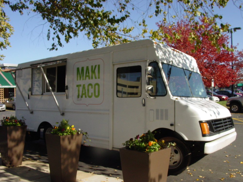 MAKI TACO  Featuring a delicious menu that is the perfect combination of Hispanic and Asian cuisine, this food truck is sure to be a huge hit among all your guests! Maki Taco offers Asian inspired tacos or Japanese Hibachi, and also offer vegan, vegetarian, and gluten-free options! Also priding themselves on being peanut and dairy free, this is the perfect food truck for any bride who prefers healthy - yet still delicious - eating!