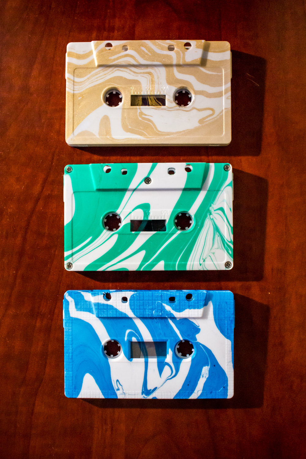 marbled painted tapes