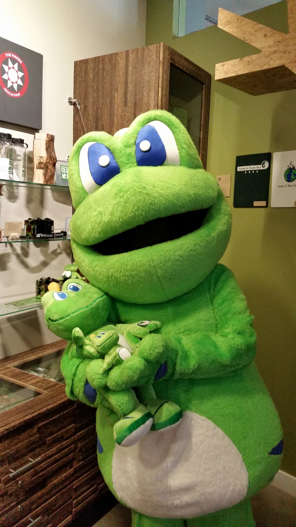 Signal the Frog and his minions at the HQ Visitor Center on Friday, July 31st.