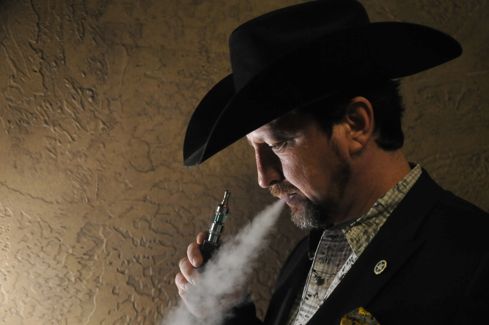 Sean Gore is the president of the Oklahoma Vapor Advocacy League and owns two vape shops of his own. Gore and OVAL are currently trying to fight against a bill that could place a 60% tax upon the sale of e-liquids in Oklahoma. CREDIT: Nick Oxford for The New York Times