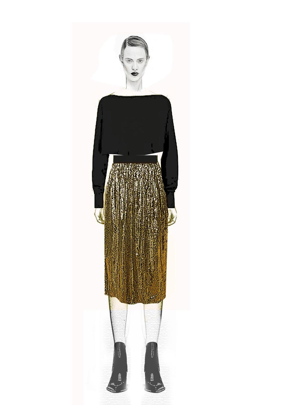 sequence gold skirtr.jpg