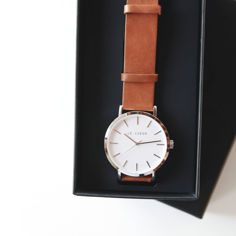 Le Coeur Steel and Walnut Seattle Timepiece.jpg