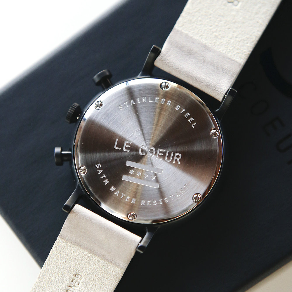 Le Coeur Black and Grey Chicago Chronograph7.jpg