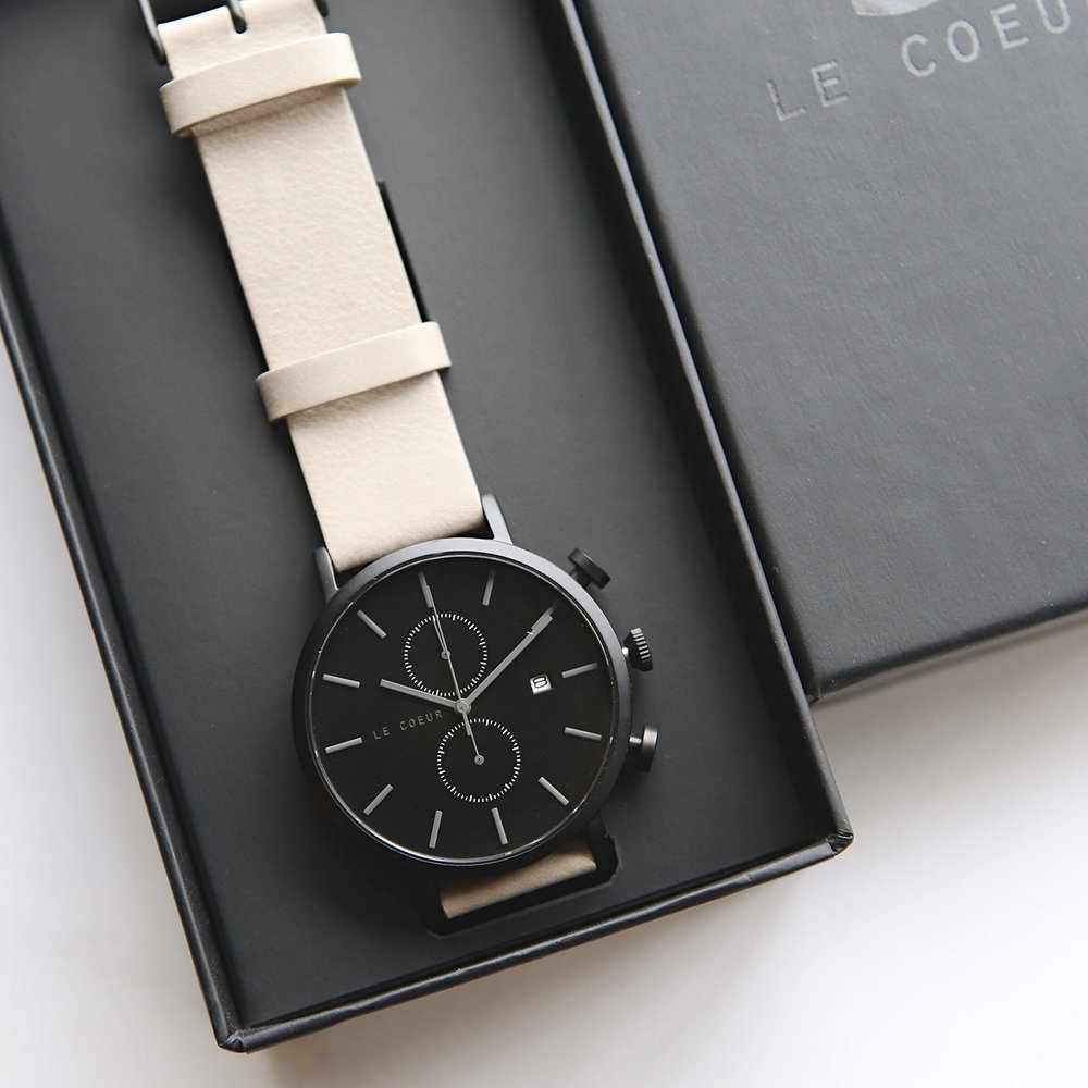 Le Coeur Black and Grey Chicago Chronograph8.jpg