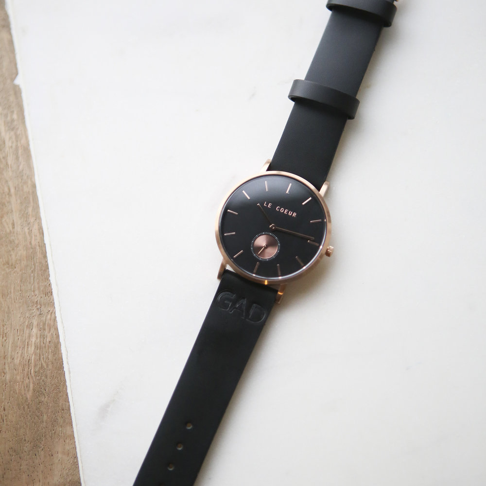 Le Coeur Rose Gold Black Dubai Watch.jpg
