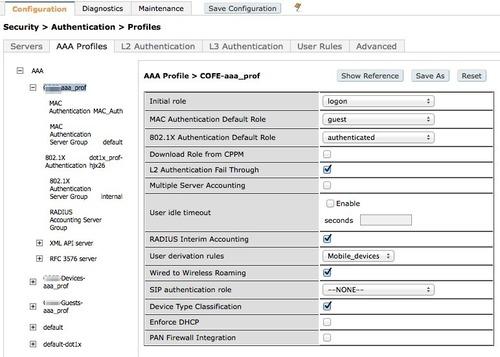 Leverage DHCP Fingerprinting in ArubaOS — ♒︎ BadFi com ♒︎
