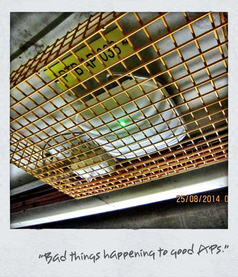 "People, set your APs free!   via-    Nice AP deployment.. the metal cage really helps 'diversify' the signal progagation! –>  pic.twitter.com/qx417ESsVz  — Scott Stapleton (@scottpstapleton)  August 25, 2014       Scott's Blog:    http://phasedcoexistence.blogspot.com     -   Yeah, just 'cuz it's wireless and invisible doesn't me it isn't affected by ""stuff""."