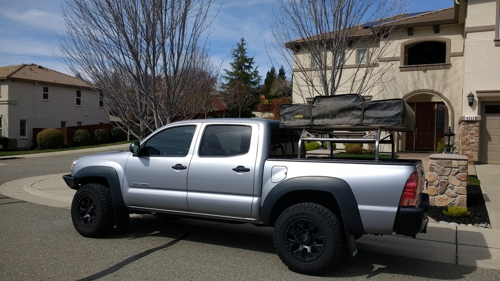 Toyota Tundra Bed Cover >> Universal over the bed tent or rack — Hot metal fab