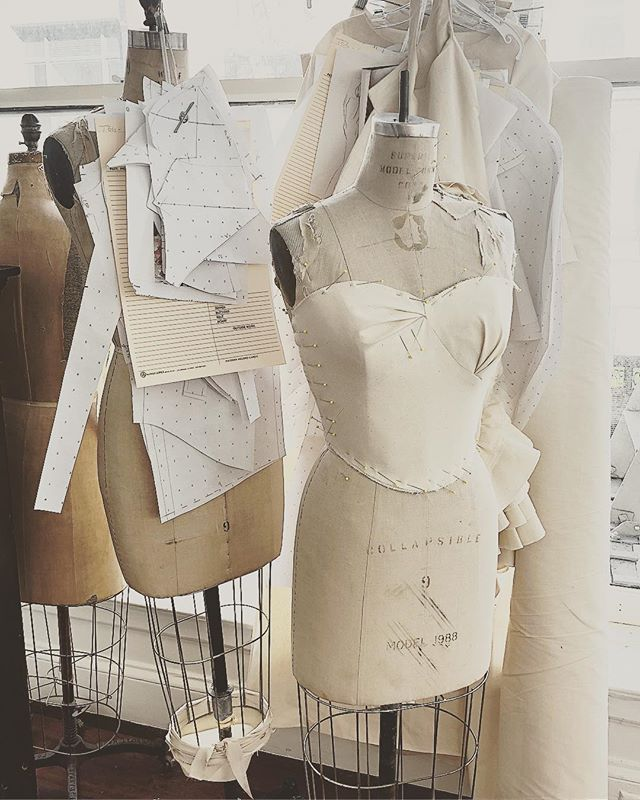 TEG proudly creates all first patterns by hand, with our team of master patternmakers. This expertise shows in 1st fittings, with only one round of fit adjustments needed, even for the most complex designs. . . #tegintl #madeinla #madeinsf #patternmaker #patterns #fashiondevelopment #draping #craftsmanship #sewingfactpry #avantgarde #couture #dressform #handmade