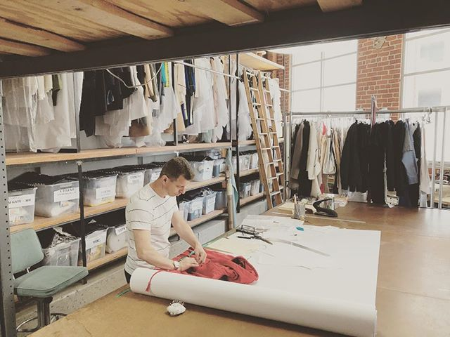 In over 13 years of working with TEG, master patternmaker Gery has worked with hundreds of designers, of all types, on their collections and productions. It's the incomparable experience and skills like these that sets the TEG team apart. . . #tegintl #patternmaker #teamwork #fashiondesign #sewingfactory #independentdesign #emergingdesigner #patterns #craftsmanship #madeinla #madeinusa