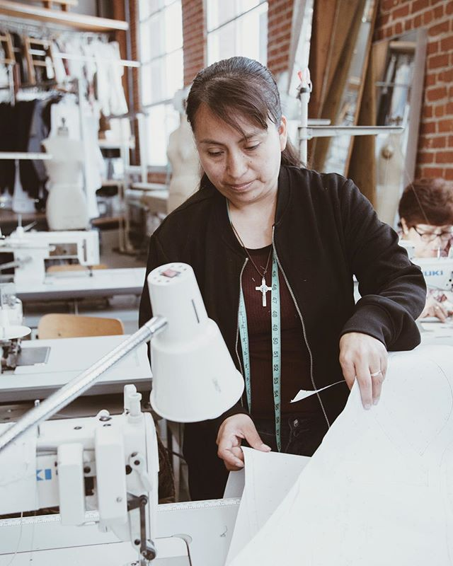TEG has proudly Made in LA since 2005, serving over 900 designers, with full-time, year-round employees earning a living wage. . #tegintl #madeinla #apparelmanufacturing #sewingfactory #production #fashiondesign #independentdesign #patterns #samples #seamstress #apparelproduction #smallvolume #madeinusa #dtla #laartsdistrict