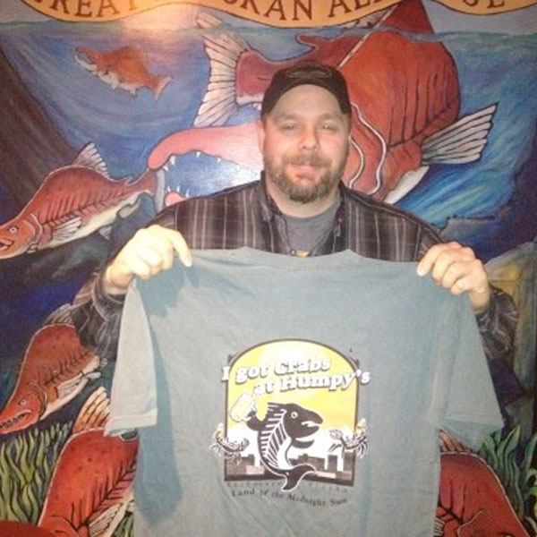 TIME: 23:38    JASON CROOK  Jason Crook of Jacksonville, AL is the latest person to beat the Humpy's Kodiak Arrest! He beat it in 23min, 38sec... just 6 minutes behind the record! Great Job!