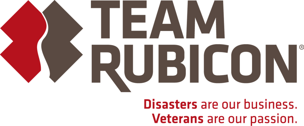Team Rubicon - Team Rubicon's primary mission is providing disaster relief to those affected by natural disasters, be they domestic or international. By pairing the skills and experiences of military veterans with first responders, medical professionals, and technology solutions, Team Rubicon aims to provide the greatest service and impact possible. Through continued service, Team Rubicon seeks to provide our veterans with three things they lose after leaving the military: a purpose, gained through disaster relief; community, built by serving with others; and self-worth, from recognizing the impact one individual can make. Coupled with leadership development and other opportunities, Team Rubicon looks to help veterans transition from military to civilian life.