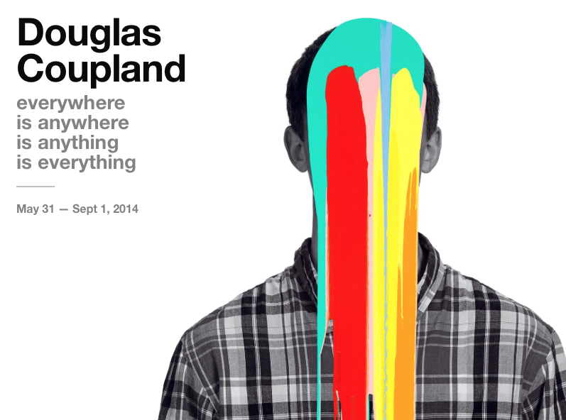 We are all looking forward to the upcoming opening of Doug Coupland's big show at the Vancouver Art Gallery. It promises to be a 'pop explosion'.