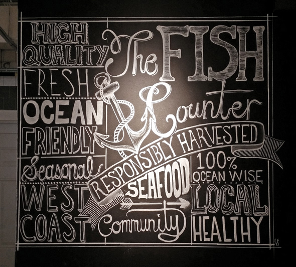 There's a fresh new shop in town called The Fish Counter that I can't wait to check out this weekend. I'll let  vancouverisawesome  tell you all about it as they do such a, well… awesome job of it.   (photo: Bob Kronbauer)   pg