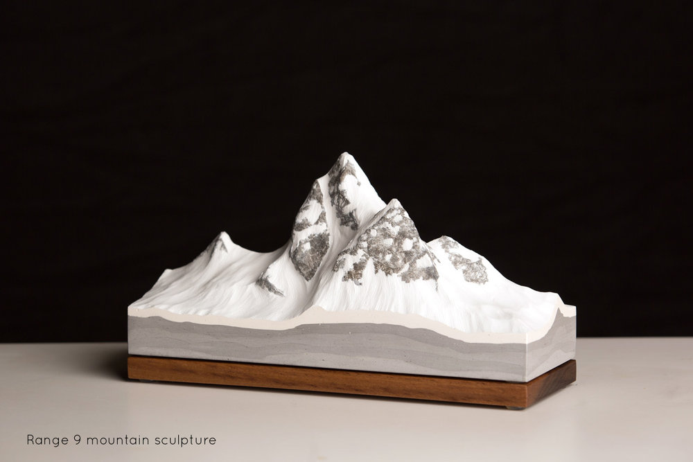 Range 9 Freestanding Mountain Sculpture | propellor.ca