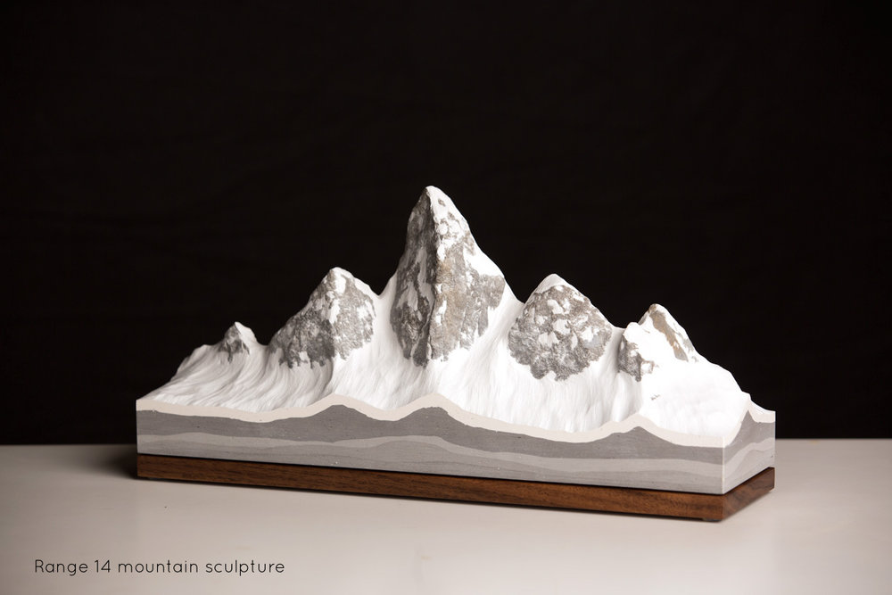 Range 14 Freestanding Mountain Sculpture | propellor.ca
