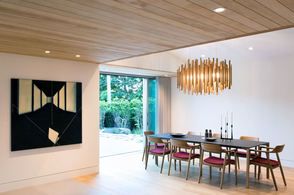 Propellor custom lighting design orée bespoke wood light series