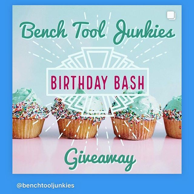 Bench Tool Junkies Birthday Giveaway!  #btgiveaway