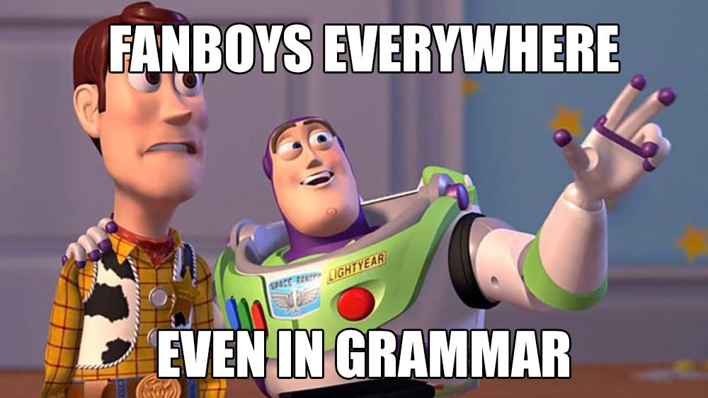 Grammar FANBOYS