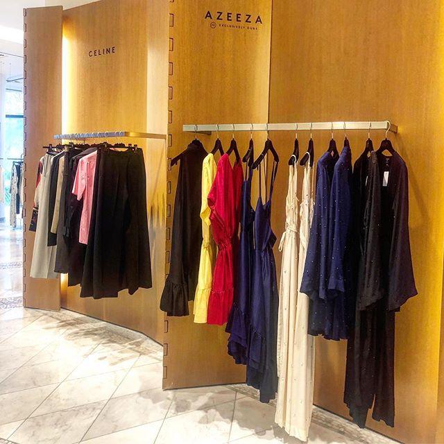 The company you keep. So nice to see Azeeza at the Las Vegas @barneysny store 🌹