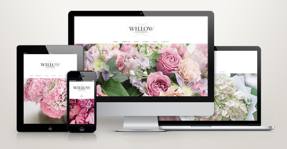 Click  here  to see a live preview of the Willow website template.