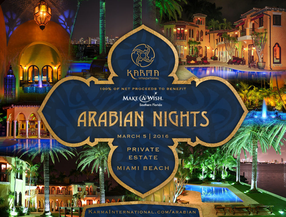 Arabian Nights Party — Karma International