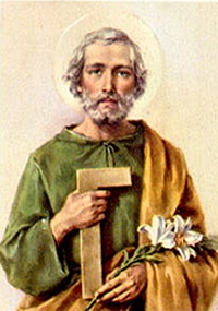 Saint Joseph, Husband of the Virgin Mary, Protector of the Order