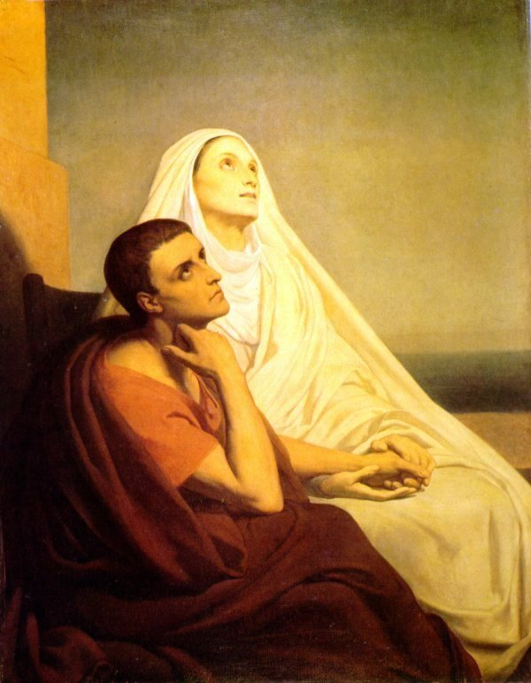 Saint Monica and Saint Augustine