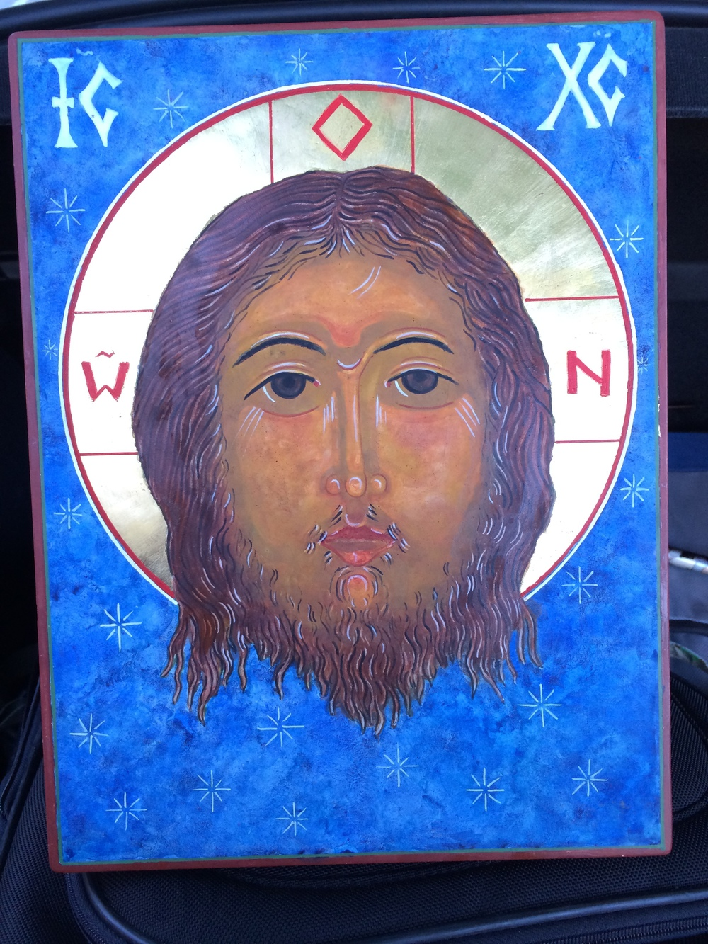 Icon of the Face of Christ written by Father Richard Cannuli, O.S.A.