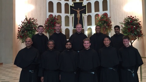 Novices Make their First Profession in the Order of Saint Augustine