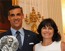 INAUGURAL RECIPIENTS PATTY AND JAY WRIGHT