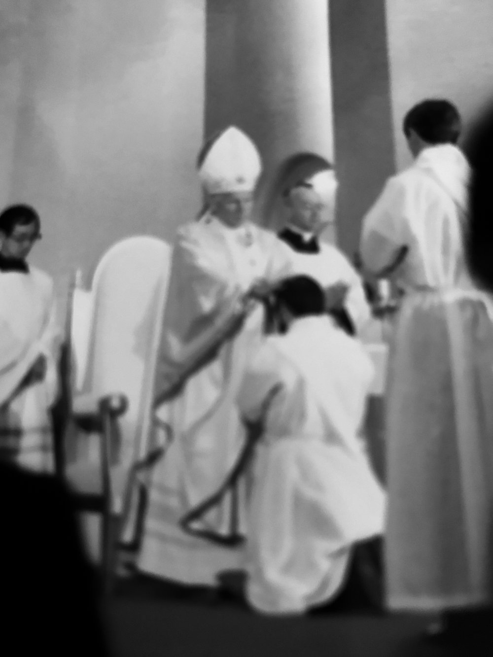 1981 Minoru Joseph Akakura was ordained to the priesthood by Saint John Paul II in Nagasaki.
