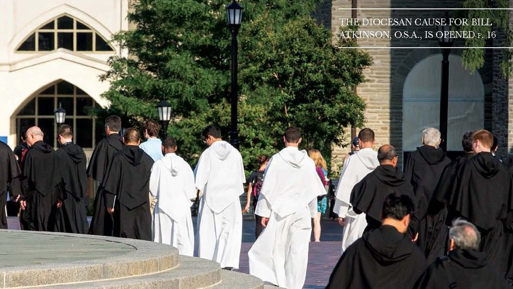 Read the latest issue of The Augustinian Magazine