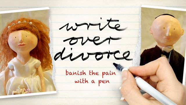 Write Over Divorce: you can secretly do this very short course alone, and feel heaps better after three weeks. only 20 minutes a day, and it stays private.