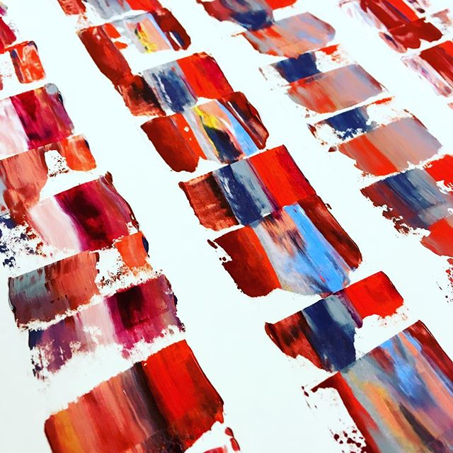 Experimenting with oil paints 🍭  #nooceanco #surfacedesign #textiledesign #patterndesign #surfacepattern #colorinspiration #oilpaints